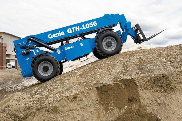 Genie GTH-1056 56-foot All Terrain Material Lift / Telehandler / Rough Terrain Forklift