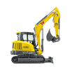 Wacker Neuson ET65 Small Turn Tracked Conventional Tail Excavator