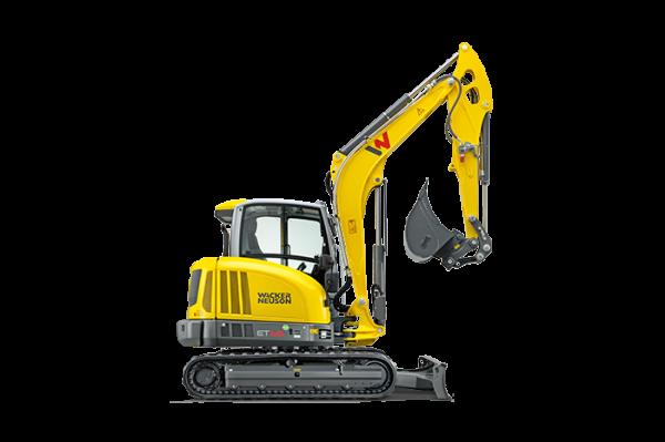 Wacker Neuson ET65 Small Turn Tracked Conventional Tail Excavator