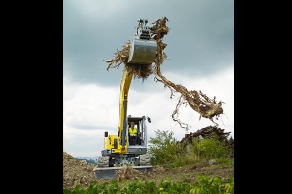 Wacker Neuson ET90 Tracked Conventional Tail Excavator