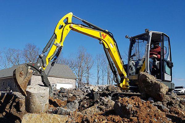 Wacker Neuson EZ36-MX Tracked Zero Tail Excavator