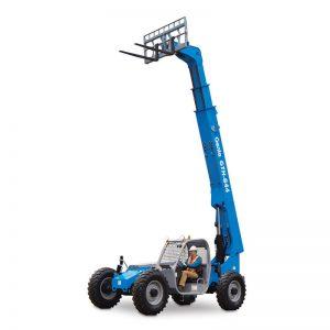 Genie GTH-844 44-foot All Terrain Material Lift / Telehandler / Rough Terrain Forklift