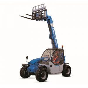 Genie GTH-5519 compact telehandler / rough terrain forklift