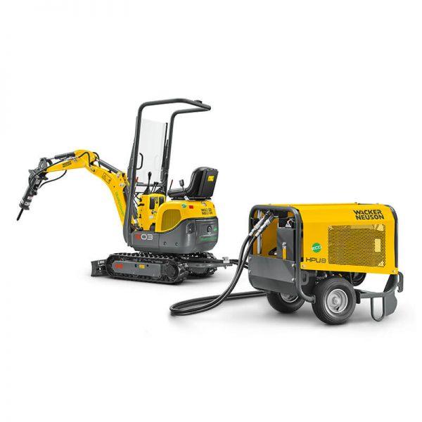 Wacker Neuson 803 Dual Power Tracked Conventional Tail Excavator