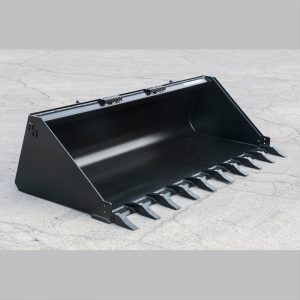Skid Steer Bucket with Teeth