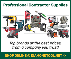 Shop Online for Professional Contractor Tools & Supplies from DiamondTool.net!