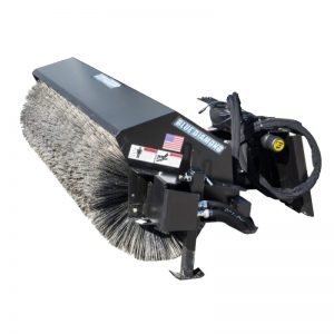 Skid Steer Angle Broom Attachment
