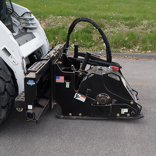 Skid Steer Cold Planer Attachment