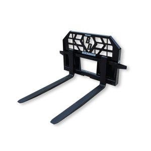 Skid Steer Pallet Forks Attachment