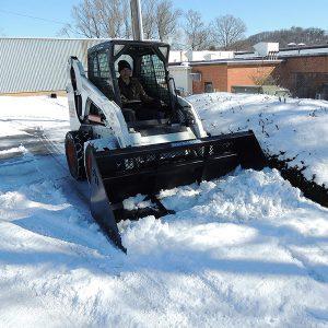 Snow Bucket for Skid Steers