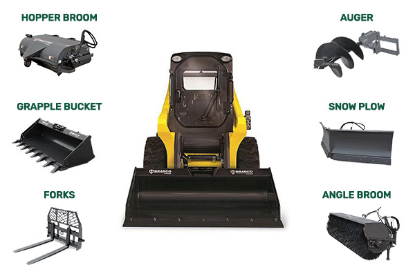 Getting the Job Done Right with Skid Steer Attachments for Landscaping