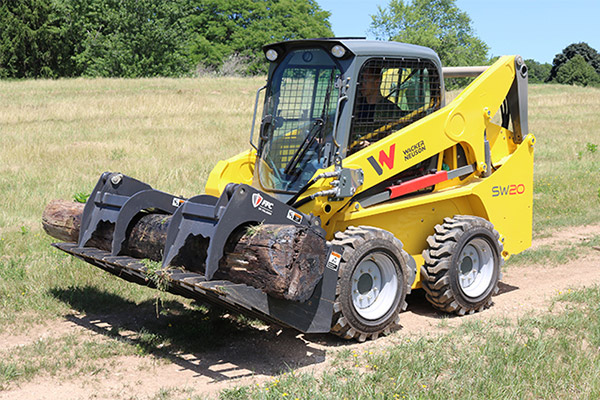 Skid Steers Attachments for Hardscaping