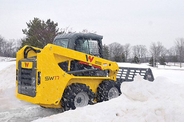 Skid Steers Attachments for Snow Removal