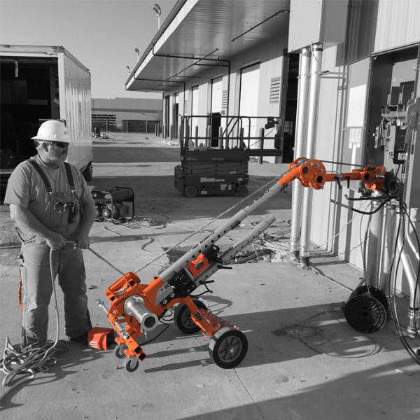 iTOOLco Cannon 12K™ 12,000 lb. Wire Puller at Outdoor Panel