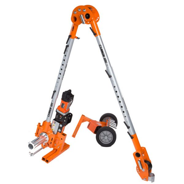 iTOOLco Cannon 12K™ 12,000 lb. Wire Puller - Receiver Hitch