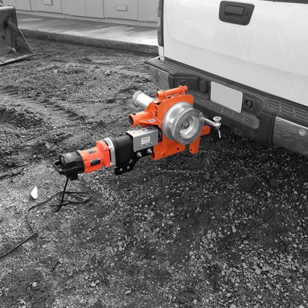iTOOLco Cannon 12K™ 12,000 lb. Wire Puller Hitch Mounted