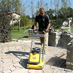 Plate Copactor Rentals for Hardscaping