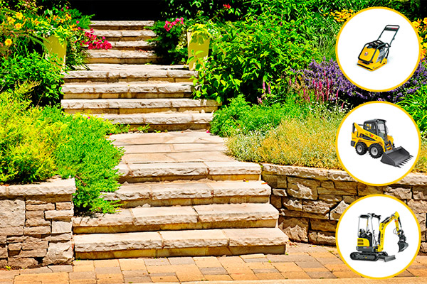 Rent Hardscaping Equipment for Your Landscaping Business