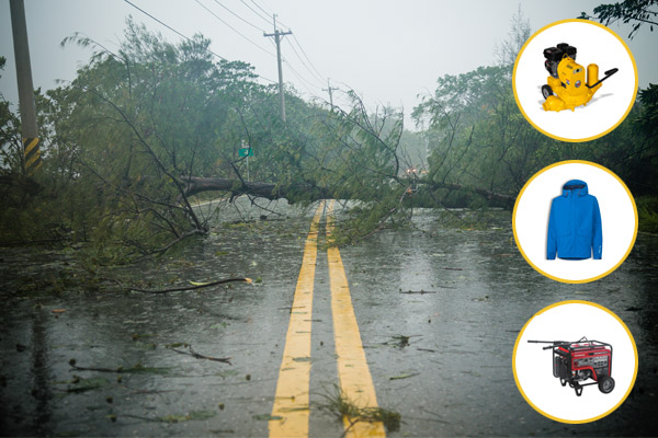 essential equipment for contractors during hurricane season