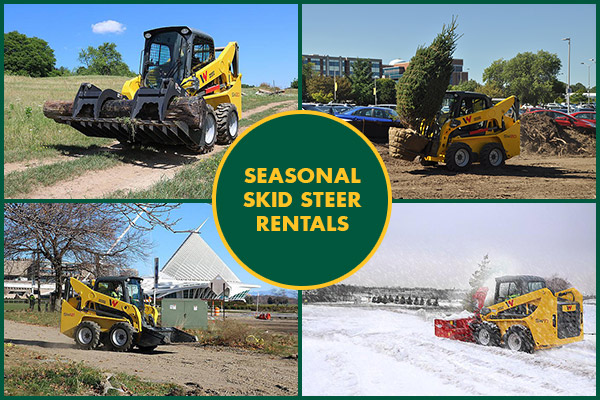Seasonal Skid Steer Rentals